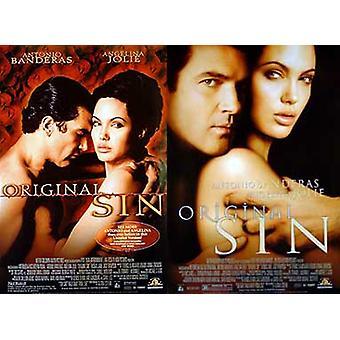 Original Sünde (Doppelseitig regelmäßig) Original Kino Poster