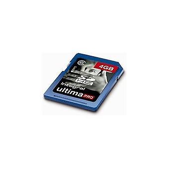 Integreret Ultima Pro 4Gb SDHC Class 6 hukommelseskort