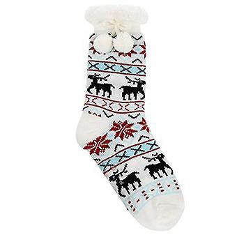 JOE DAVIES Joe Davies Sherpa Reindeer Snoozies Choice Of 6 Colours 293500