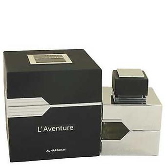 L'aventure by Al Haramain Eau de Parfum Spray 3,3 oz (miehet) V728-533840