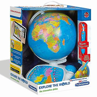 Clementoni Explore The World Interactive Globe Toy
