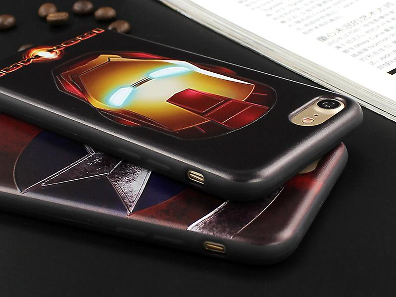 Iphone 6+/6S+ Plus Avengers Soft Cover Case IronMan