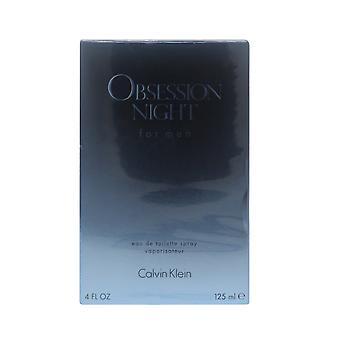 Obsession Night von Calvin Klein Eau De Toilette 4oz/125ml Spray neu In Box