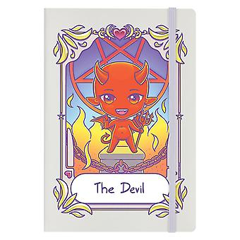 Deadly Tarot Kawaii The Devil A5 Hard Cover Notebook