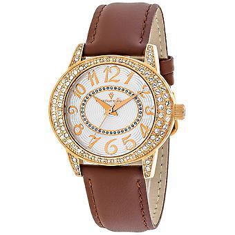 Christian Van Sant Frauen's Sevilla Silber Zifferblatt Uhr - CV8413