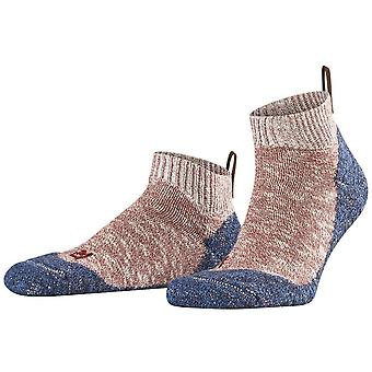 Falke Lodge Homepad Slipper Socken - Oxford Pink/Blau
