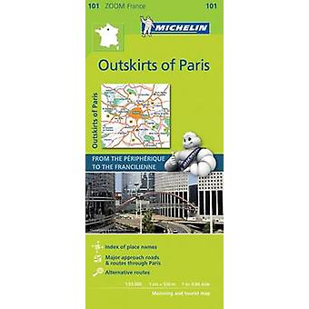 Outskirts of Paris  Zoom Map 101  Map by Michelin