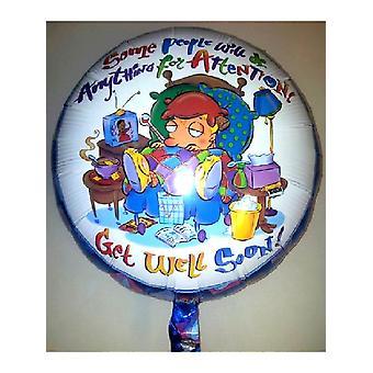Ballon aluminium 18