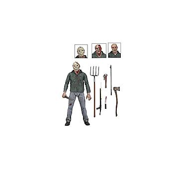 Jason Voorhees Ultimate Edition Poseable Figure from Friday the 13th Part 3