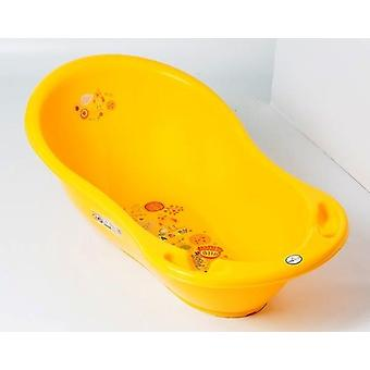 Chipolino baby bath Marea bird yellow, 102 cm, with thermometer, storage compartments
