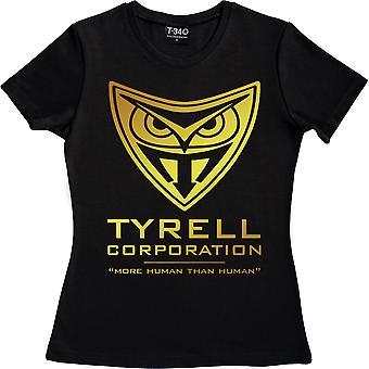 Tyrell Corporation Camiseta Negro Mujer's