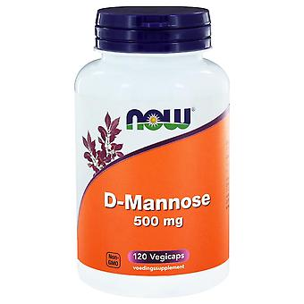 D-Mannose 500 mg (120 vegicas) - NOW Foods