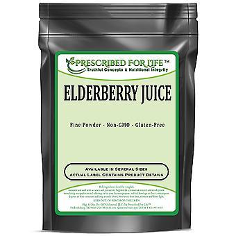 Elderberry - Pó natural do suco de fruta