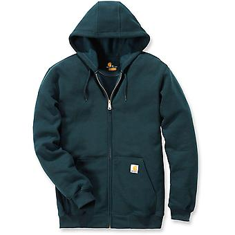 Carhartt Mens Zip Stretchable Reinforced Hooded Sweatshirt Top