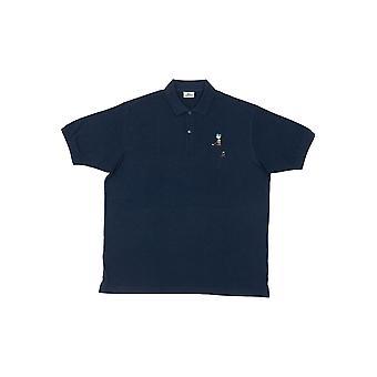 Polo short sleeves Blue Marine Lacoste men