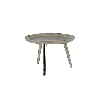 Light & Living Coffee Table 50.5x41.5x29cm Pinula Raw Nickel