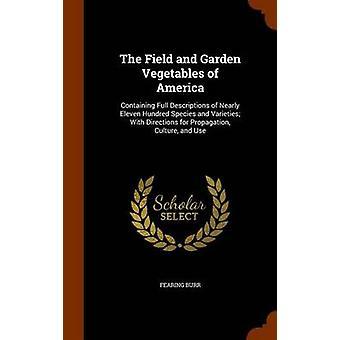 Burr & Fearing & Jr. tarafından Amerika'nın Tarla ve Bahçe Sebzeleri