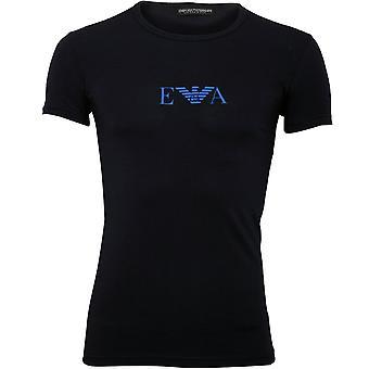 Emporio Armani Eagle Logo T-Shirt, Navy