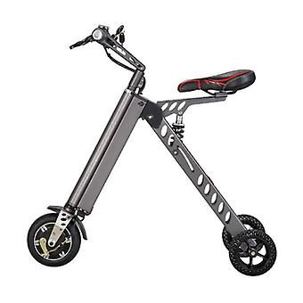 Stuff Certified® Ultralight Electric Folding Smart e Scooter 250W - 8 inch - three wheels - black