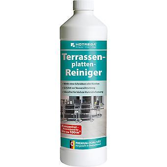 HOTREGA® limpiador de placas de terraza, botella de 1 litro