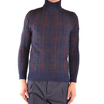 Woolrich Ezbc033055 Miehet's sininen villapusero