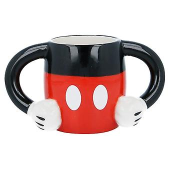 Mickey Mouse 3D Ceramic Cup