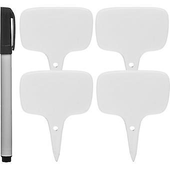 Sagaform Skyltar 4-pack med penna