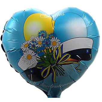 Student Foil balloon 45cm Balloon Heart