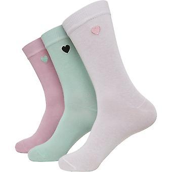 Urban Classics - HEART Socks Pack of 3