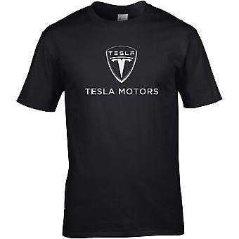 Tesla Motors - Bilmotor - DTG trykt T-skjorte