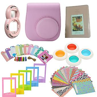 Accessory Sets for Fujifilm Instax Mini 8/9-Light pink