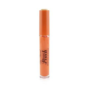 Sweet Peach Creamy Peach Oil Lip Gloss - # Poppin' Peach - 4ml/0.14oz