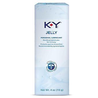 K-y jelly henkilökohtainen voiteluaine, 4 oz