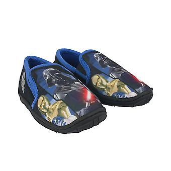 Star Wars Darth Vader Characters Black Boy's Slippers