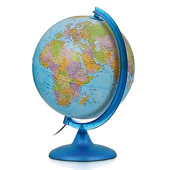 Nova Rico 25cm Night and Day Illuminated Educational World Globe