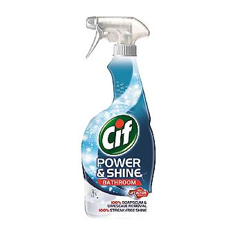 Cif Power & Shine Liquid Bathroom Spray 700ml