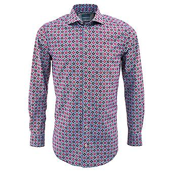Tresanti Medallion Print Mens Shirt