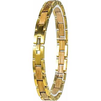 Element Bracelet WaidZeit Barrique Gold Plated - EL-B03