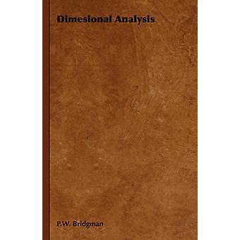 Dimesional Analysis by Bridgman & P. W.