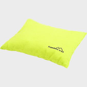 Nieuwe Freedom Trail Flannel Pillow Lime