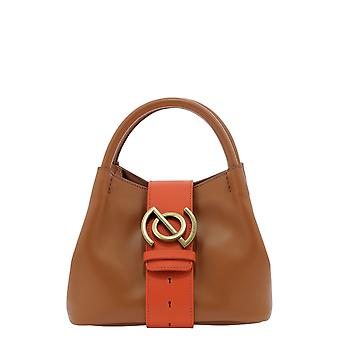 Zanellato 6415pntb Women's Brown Leather Handbag