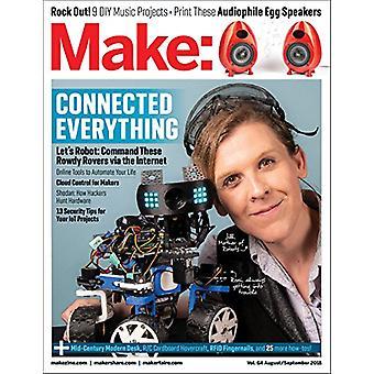 Make - Volume 64 by Mike Senese - 9781680455267 Book