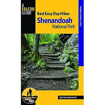 Best Easy Day Hiking Guide and Trail Map Bundle: Shenandoah National Park