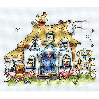 Bothy Threads Cross Stitch Kit - Ompele Dinky Mökki
