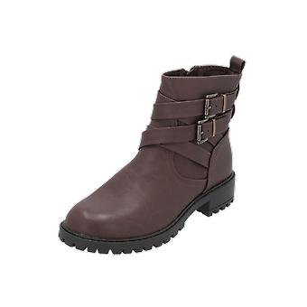 New Look BEAMER Women's Boots Brown Lace-Up Boots Winter