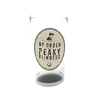 Peaky Blinders Logo Large Glass