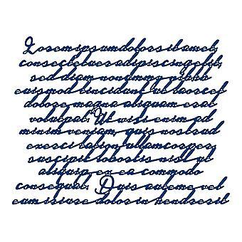 Gescheurde Kant Woord Achtergrond Sterven