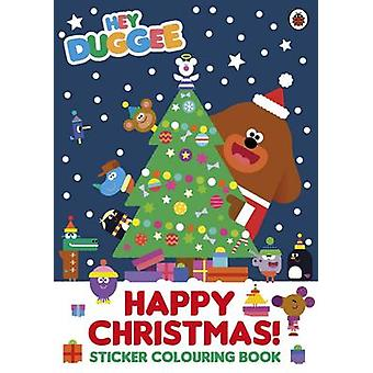 Hey Duggee Happy Christmas Sticker Col by Hey Duggee