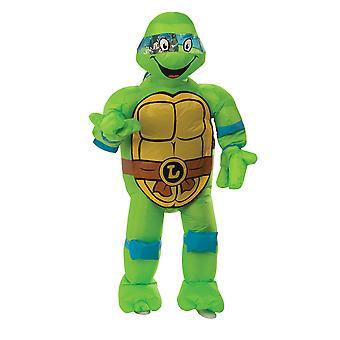 Men Inflatable Leonardo Costume - Teenage Mutant Ninja Turtles