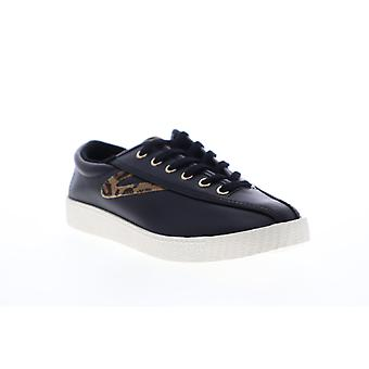 Tretorn Nylite 25 Plus Womens Black Low Top Lace Up Lifestyle Sneakers Shoes